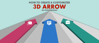 PowerPoint Tutorial #3- How to Create a Customized, Stunning 3D Arrow in PowerPoint