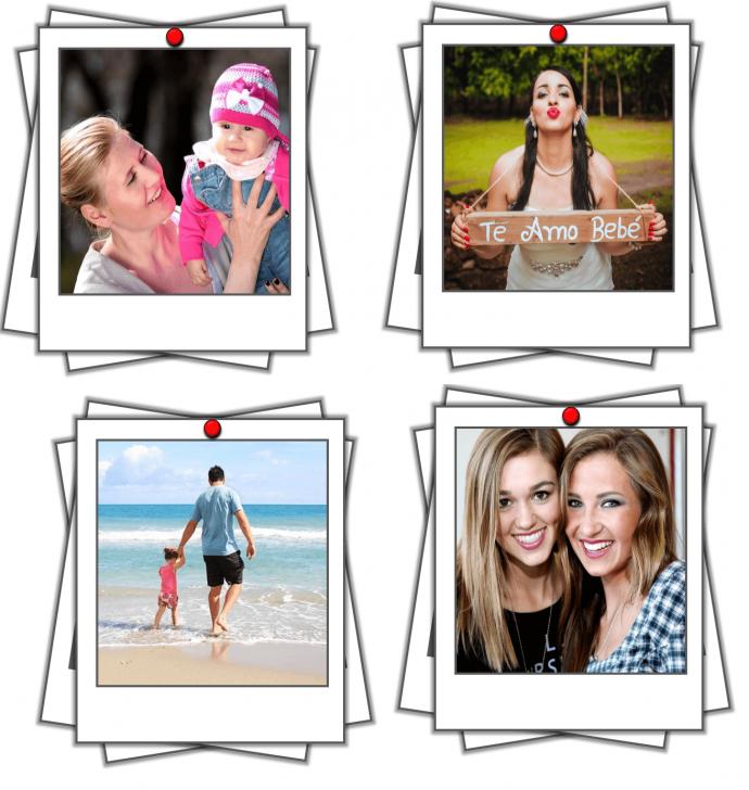 Polaroid Picture Frame PowerPoint Tutorial