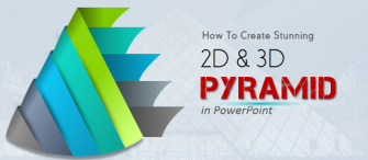 PowerPoint Tutorial #8- How to Create a Stunning 2D and 3D Pyramid Diagram for Your Presentation