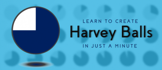 PowerPoint Tutorial #12- How to Design Harvey Balls in Just a Minute!