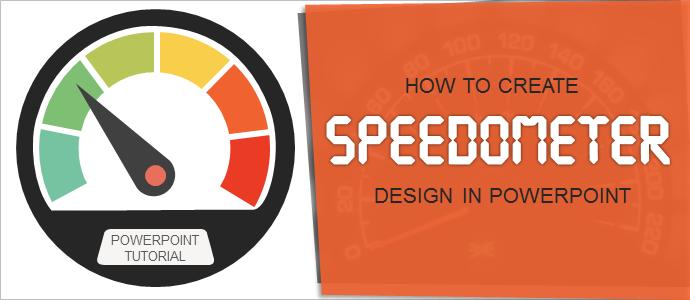 powerpoint tutorial #13- make an impressive speedometer dashboard, Modern powerpoint