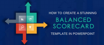 PowerPoint Tutorial #11- How to Design a Creative Balanced Scorecard Template