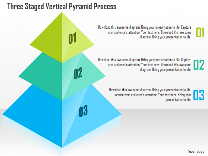 powerpoint tutorial 8 how to create a stunning 2d and 3d pyramid