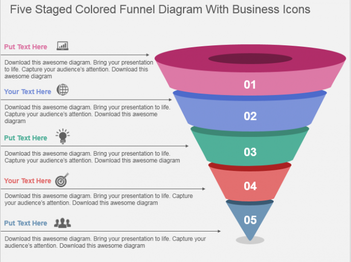 learn to create funnel diagram | the slideteam blog, Modern powerpoint