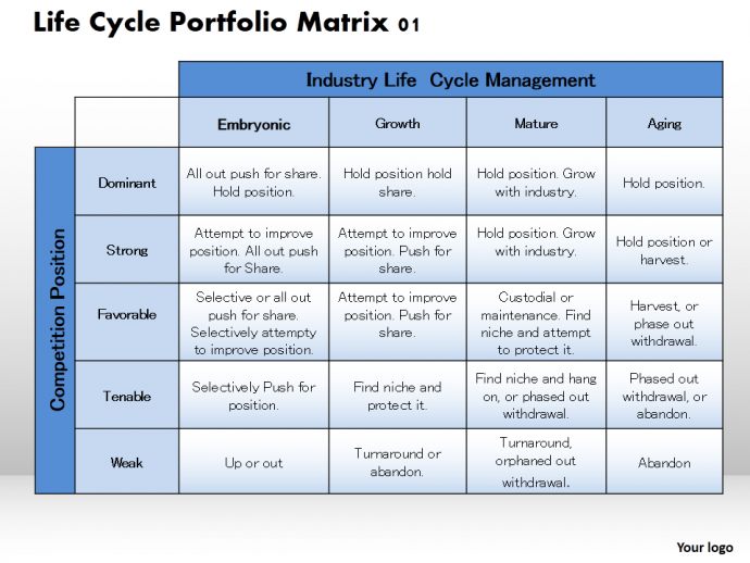 create matrix template for your presentation | the slideteam blog, Powerpoint templates