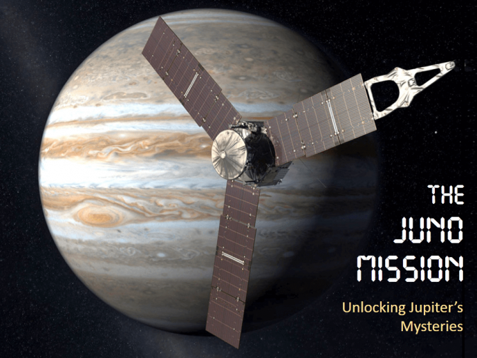 The Juno Mission is a success and so is the slide