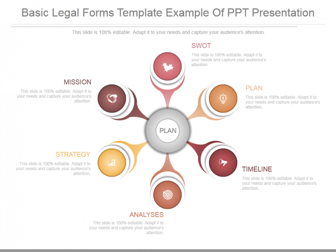 App basic legal forms template example of ppt presentation