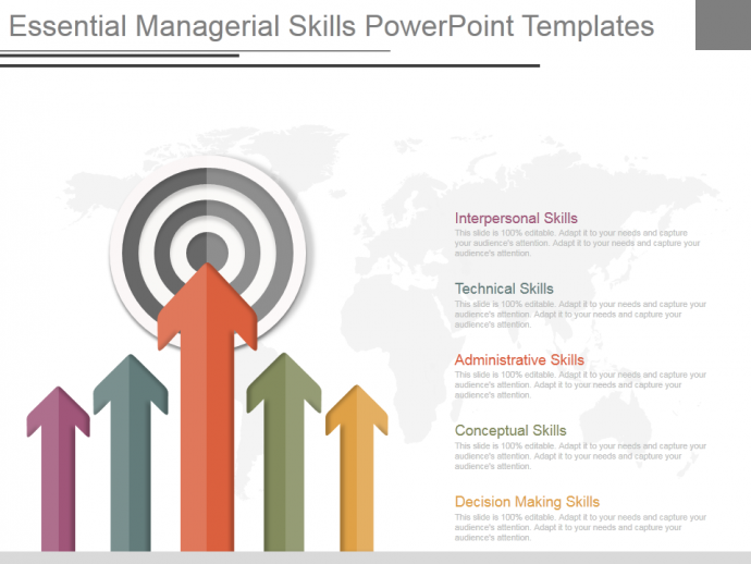 Essential managerial skills powerpoint templates