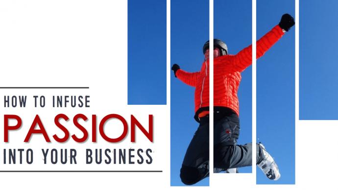 Cover Slide of a Business Presentation with a Unique Design
