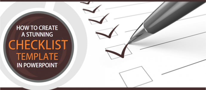 How To Create A Modern Checklist Diagram In Powerpoint The