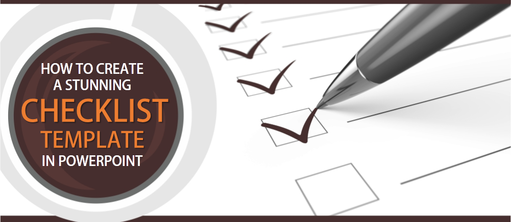 how to create a modern checklist diagram in powerpoint