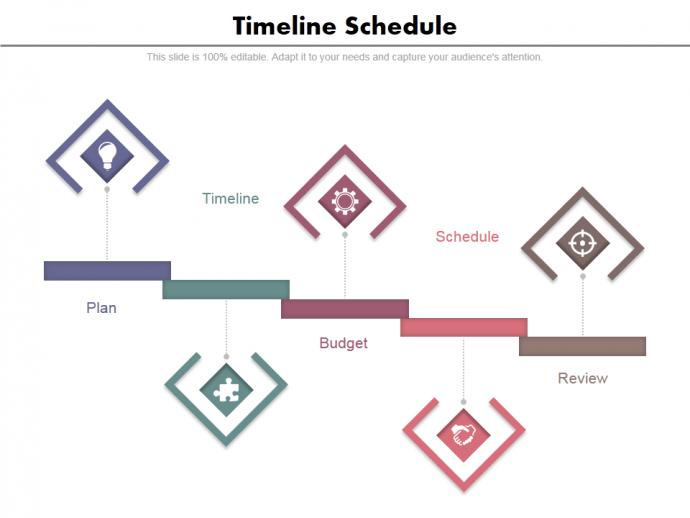 Timeline Presentation Slide