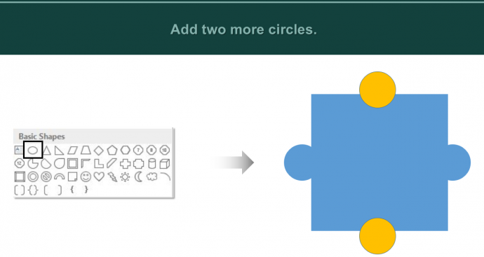 Add two more Circles
