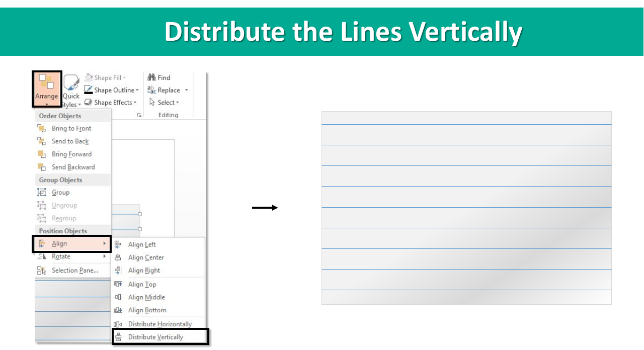 How To Create Cue Cards In Powerpoint Just 5 Minutes The Return Light Bulb Diagram Template For Again Select All Lines Right Click Outline Red Color Or Of Your Choice