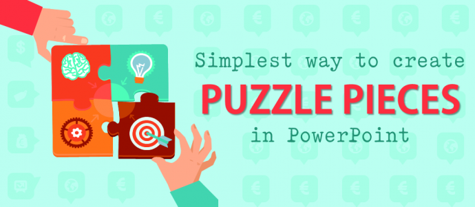 the simplest way to create puzzle pieces in powerpoint the