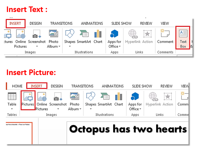 How to create Pop Out Effect in PowerPoint