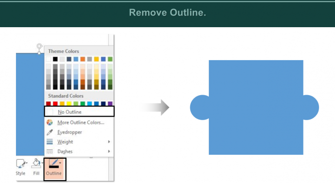 Remove Outline
