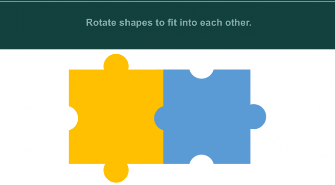Rotate the shapes