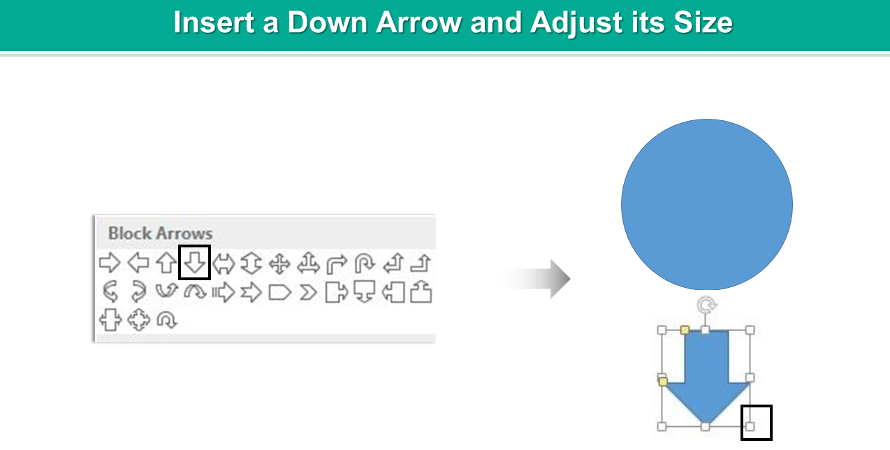 how to add arrows to slider