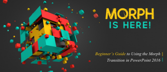 [Morph PowerPoint Tutorial] Beginner's Guide to Using the Morph Transition in PowerPoint 2016