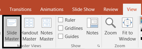 Slide Master Feature in PowerPoint