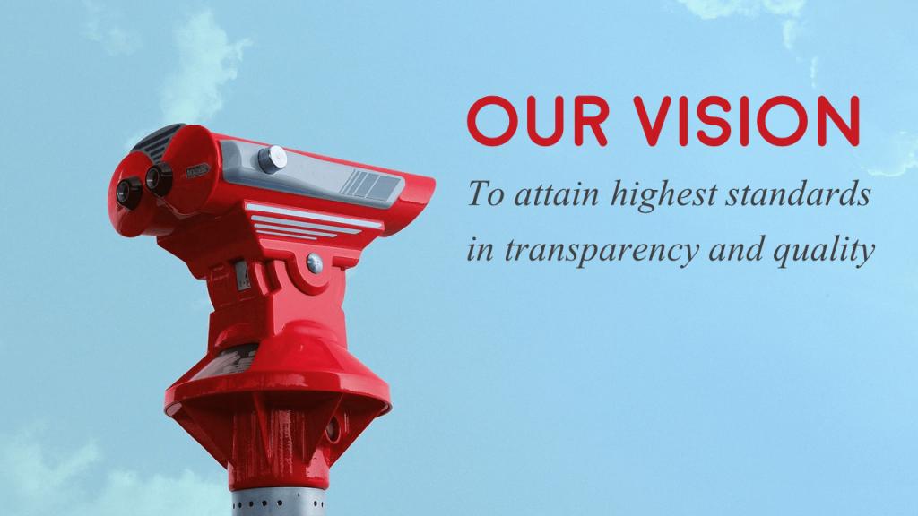 Company Vision Presentation Slide