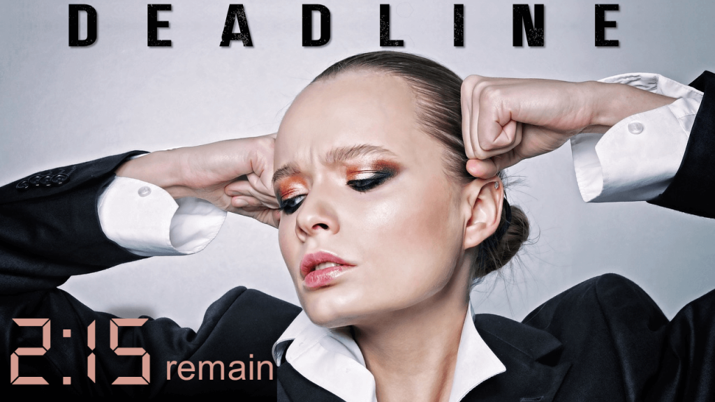 Deadline Crisis- Eye Gaze Principle Used in Slide Design