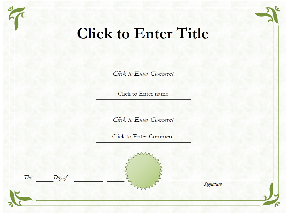 education award diploma certificate template of accomplishment powerpoint