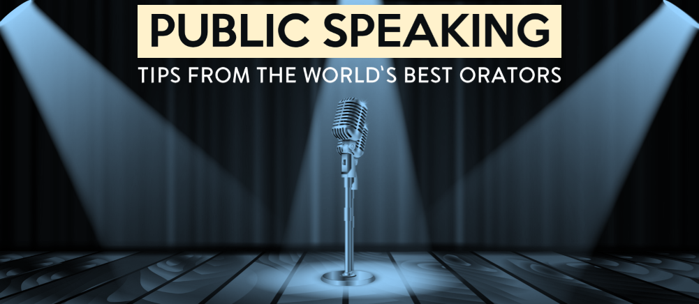 5 Public Speaking Lessons from the World's Top 5 Orators of Today
