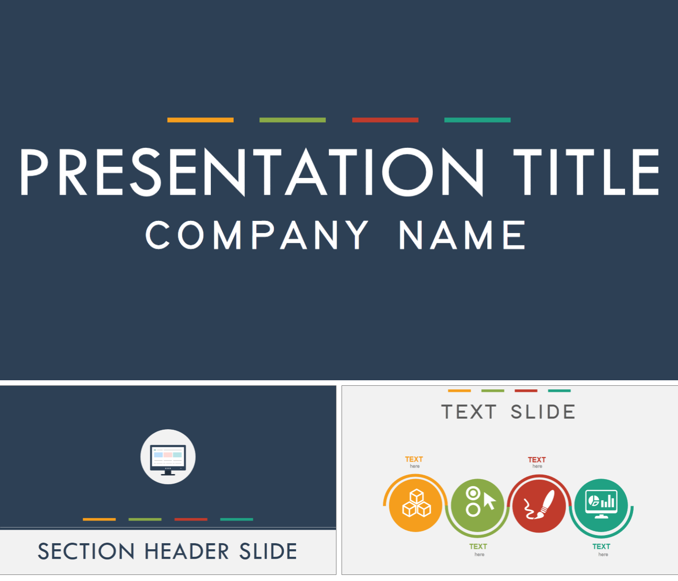 7 amazing powerpoint template designs for your company or personal heres a flat design powerpoint template that you can use for any kind of presentation company or personal toneelgroepblik Image collections