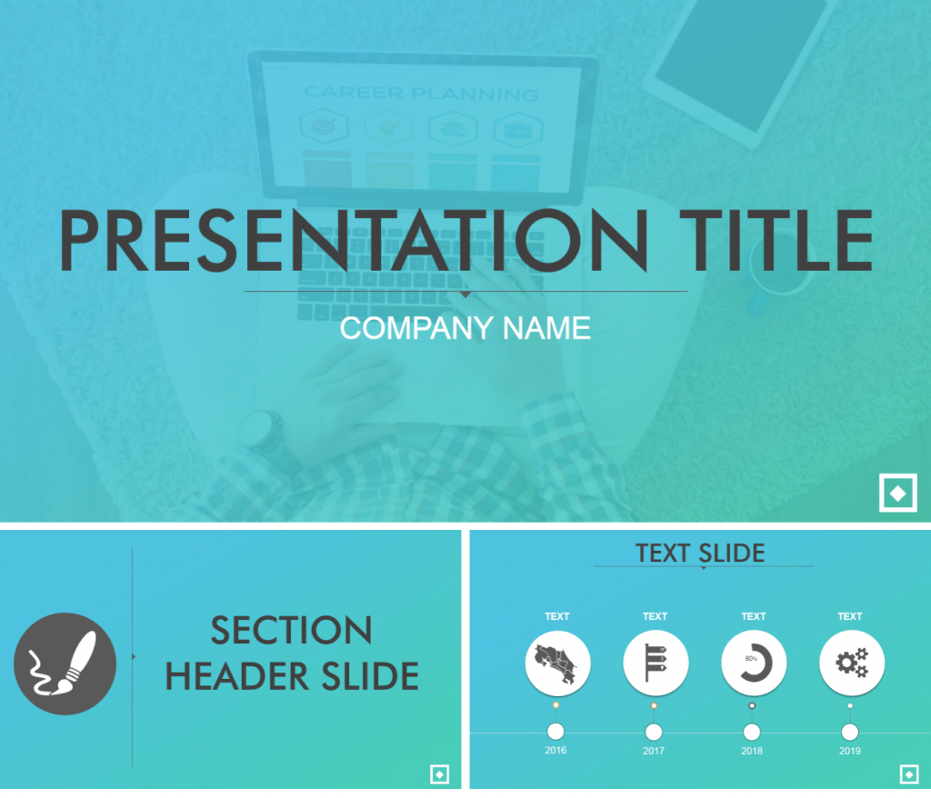 Gradient Background PowerPoint Template