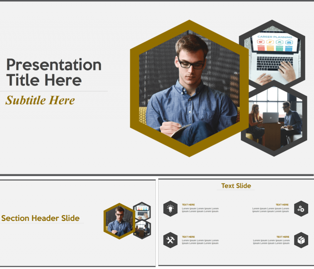 Human Resource or Career Planning PowerPoint Template