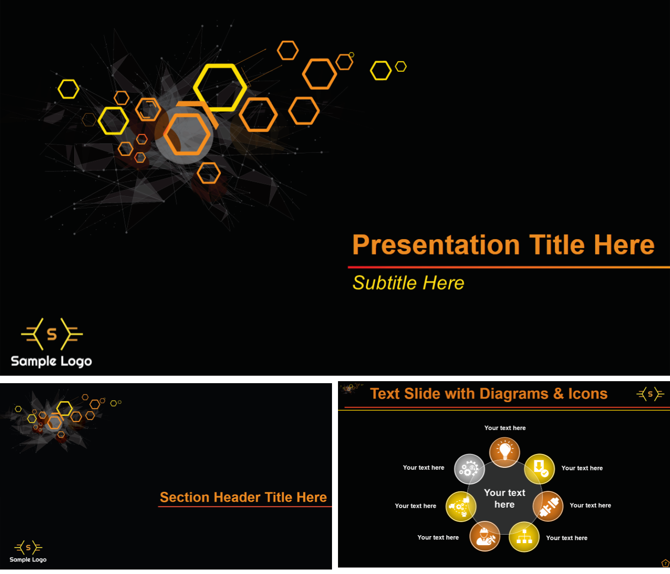 7 amazing powerpoint template designs for your company or for Most professional powerpoint template