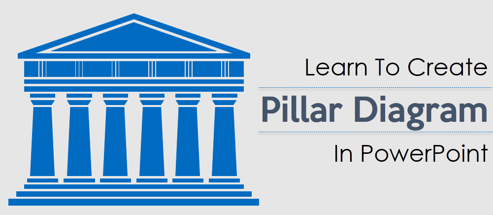 learn to create stunning pillar diagram in powerpoint