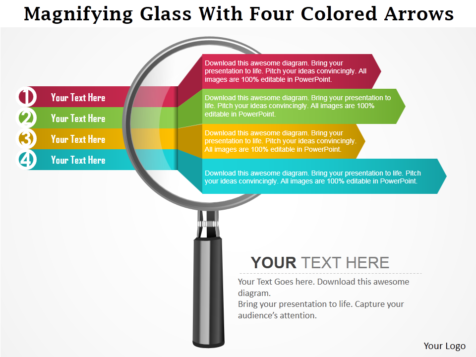 Learn to Create a Magnifying Glass Icon in Less than 5