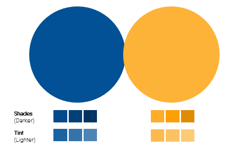Color Palette 8- Blue and Yellow