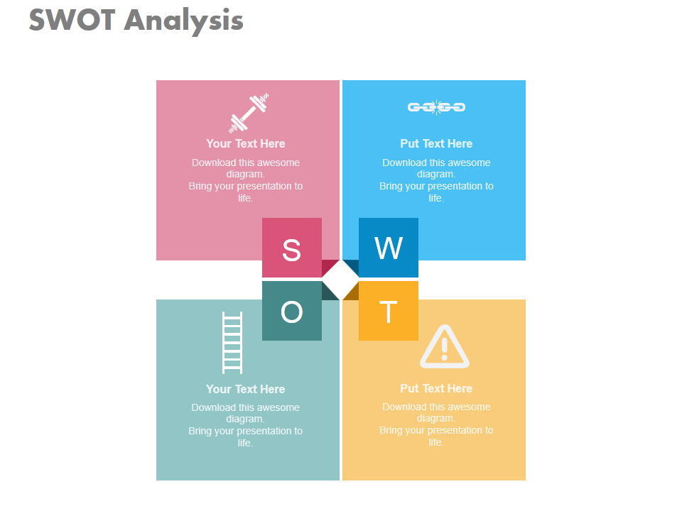 learn to create swot analysis icons in powerpoint powerpoint tutorial 41 the slideteam blog learn to create swot analysis icons in