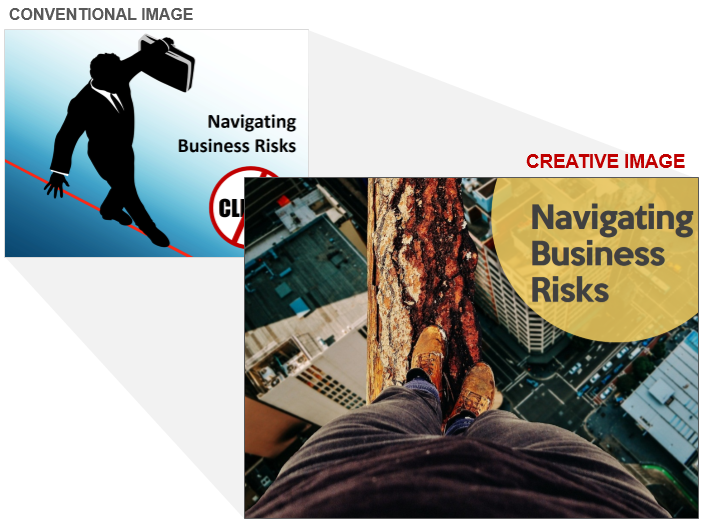 Business Risks Stock Photo Cliche and Creative Image
