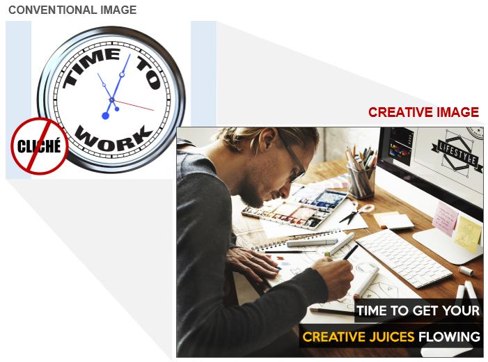 Creative Work Stock Photo