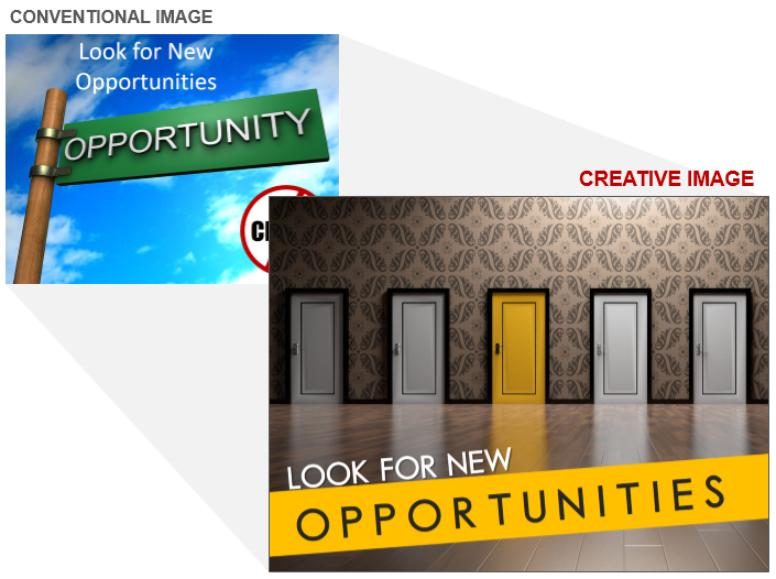 Opportunity Stock Photo Cliche and Creative Image