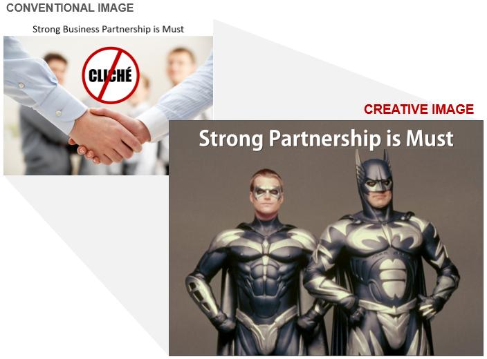 Partnership Stock Photo Cliche and Creative Image