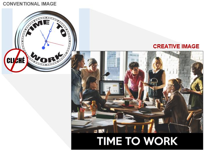 Work Stock Photo Cliche and Creative Image