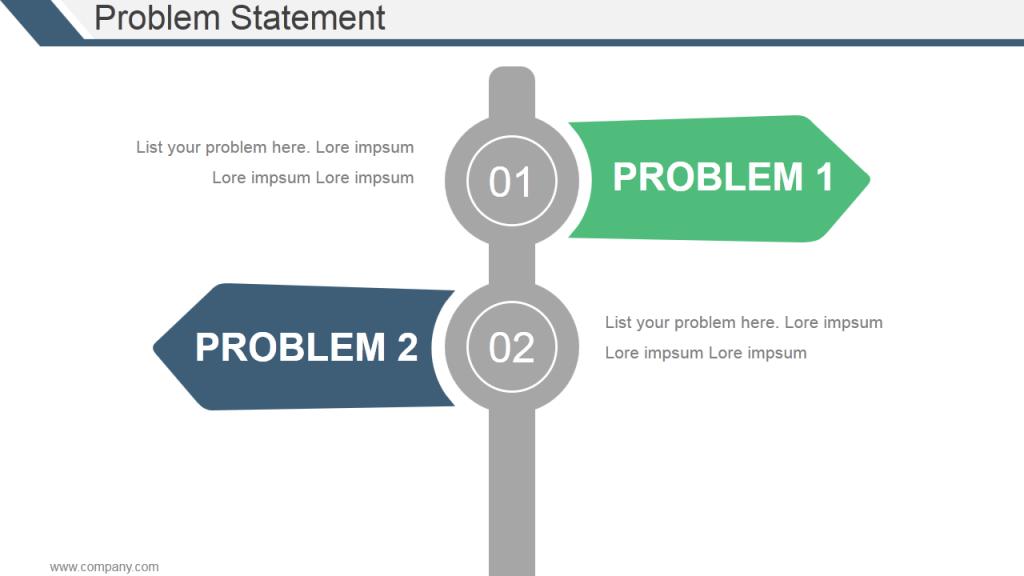Write Your Problem Statement
