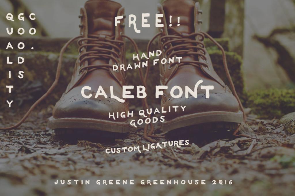 Caleb- Free Font Handwritten