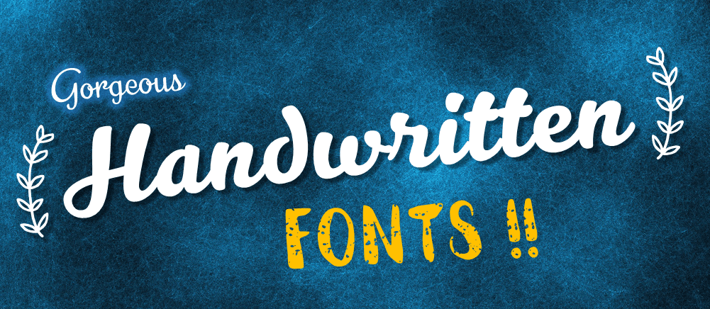 30 Gorgeous Free Handwritten Fonts Every Designer Should Have - The