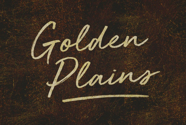 Golden Plains font