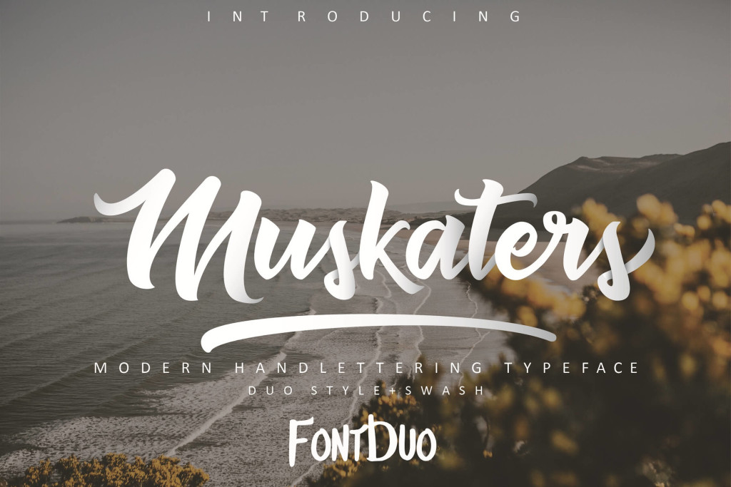 Muskaters font