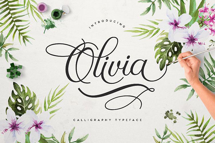 Olivia Free Font Handwritten