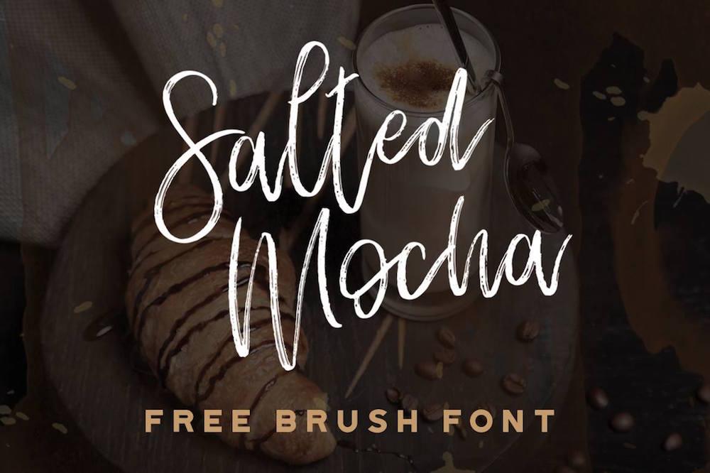 Salted Mocha Free Font Handwritten