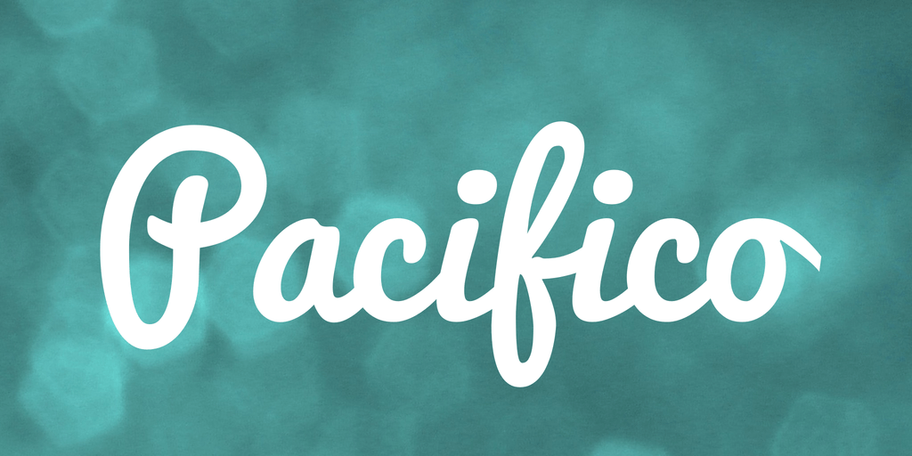 Pacifico- Free Font Handwritten